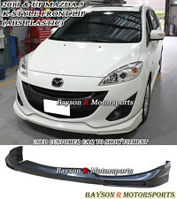 K-Style Front Lip (ABS) Fits 11-15 Mazda 5