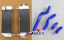 For YAMAHA YZ250 YZ 250 2-stroke 2002-2014 03 aluminum radiator & silicone hose