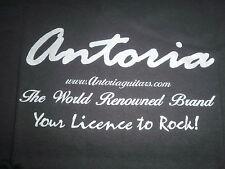 TIM GENTLE musique & ANTORIA guitares tee shirt. neuf jamais auparavant disponibles x large