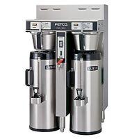Fetco Dual 1.5 Gallon Thermal Coffee Brewer CBS-52H-15