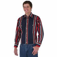 WRANGLER Mens WESTERN Shirt - Water Repellent - Wind Resistant - Durable - M