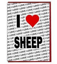 Greeting Card - Birthday I Love Sheep
