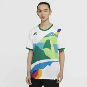 Brazil Skate Jersey Shirt Nike Jersey Shirt Olympic Tokyo 2020 - 2021