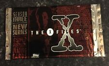 The X Files Season 3 Topps Trading Cards Packet NEW & SEALED
