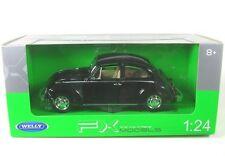 VOLKSWAGEN VW Beetle Hard Top Year 1959 Black 1 24 WELLY