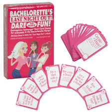 Bachelorette Scavenger Hunt Dare Cards Fun Drinking Game Adult Party Travel Size