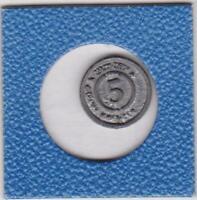 5 Kreuzer Entenhausener Bank 1998 Goofy Micky Maus Disney Medaille medal