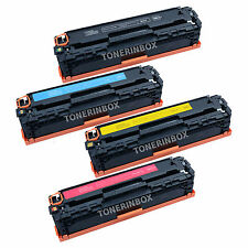 4 Compatible CB540A CB541A CB542A CB543A Toner For Color LaserJet CP1515n CP1518