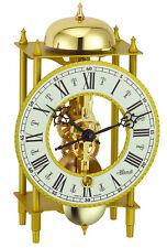 (New!) LAHR Skeleton Mantel Desk Clock Hermle Clocks bell 23004-000711