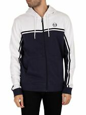Sergio Tacchini Men's New Young Line Zip Hoodie, Blue