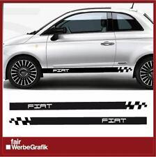 Aufkleber /  Sticker / Seitenbeschriftung / Dekor / Fiat Streifen / #168