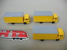 q856-0, 5 #3X Wiking H0 Truck Models Post; Magirus