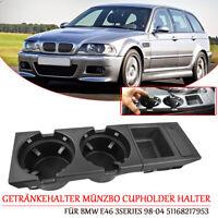 DE 51168217953 Getränkehalter Münzbo Cupholder Auto Halter für BMW E46 3Series