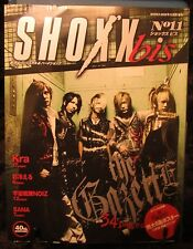 Shoxx bis #11 40th Anniversary the GazettE, Sana, Kra JRock Magazine + 3 Posters