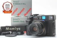 [Mint in Box] Mamiya 7ii Medium Format Film Camera N 80mm F4 Lens From Japan