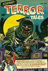 Beware Terror Tales 03 Comic Book Cover Art Giclee Reproduction on Canvas