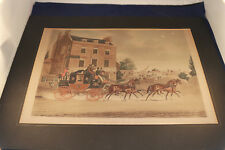 """Original """"Quicksilver Royal Mail """" by James Pollard, Engraved by C. Hunt"""