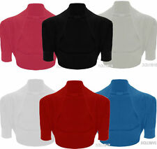 Unbranded Women's Short Sleeve Boleros Shrugs Jumpers & Cardigans