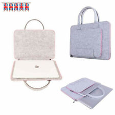 17.3 Inch Felt Laptop Sleeve Cover Notebook Computer Case Skin Carrying  Bags UK