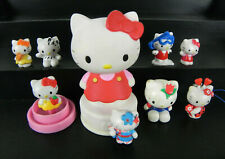 HELLO KITTY Lotto 9 Figure Varie Personaggi VINTAGE da collezione Giocattoli
