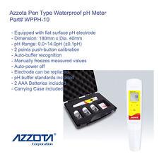 Azzota WPPH-10 Waterproof Pen Type pH Meter, pH Range: 0.0~14.0pH (±0.1pH)