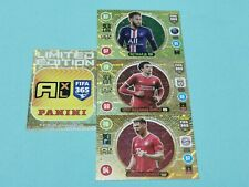 Panini Adrenalyn XL FIFA 365 2021 Set 5 - 4 x Gold Limited Edition