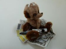 Dolls House Miniature 1:12th Scale Handmade Display Bear With Paint Brush