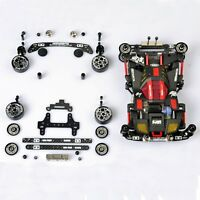 FM Metal Chassis Modify Parts For Tamiya MINI 4WD Car Model