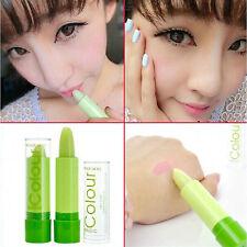 Pretty Popular Waterproof Magic Fruity Smell Green Changable Color Lipstick Lip