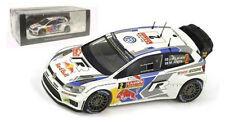 SPARK s3786 VOLKSWAGEN POLO R il WRC Monte Carlo 2014-J M latvala scala 1/43