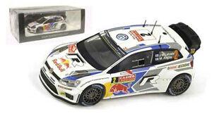 Spark S3786 Volkswagen Polo R WRC Monte Carlo 2014 - J M Latvala 1/43 Scale