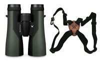 Vortex Optics Crossfire 12x50 Binocular w/ Vortex Harness - Fast Free Shipping