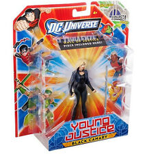"""DC UNIVERSE_Young Justice Collection_BLACK CANARY 4.25 """" action figure_New & MIP"""