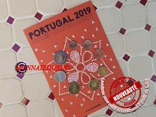 Coffret FDC 1Cent à 2Euro Portugal 2019 - Coffret Officiel