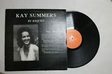 Kay Summers, By Request, Vinyl LP, Original Autumn Records