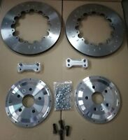 Audi TT RS 355mm C7 RS6 Rear 2 piece Brake Disc Upgrade Brembo Spec AP Racing