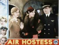 OLD MOVIE PHOTO Air Hostess Lobby Card Evalyn Knapp Thelma Todd Arthur Pierson 1