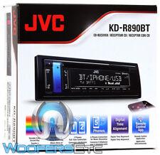 JVC KD-R890BT CAR STEREO BLUETOOTH CD USB MP3 AUX VARIABLE COLOR DISPLAY RADIO