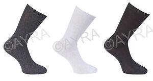6 Pairs Boys Ankle Short Cotton School Socks, Colours - Black, Grey & White