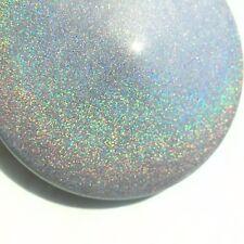 Semi-gloss SPARKLE HOLOGRAPHIC SILVER powder coat paint  1Lb / 450 g