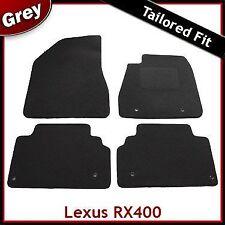 LEXUS RX400 montato su misura moquette tappetini GRIGIO (2003 2004 2005-2007 2008 2009)