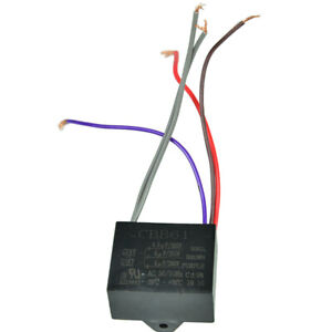 CBB61 Electrical Power Relay Connecting Capacitor 4.5uf+6uf+5uf 250V 5 Wire