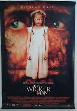 """THE WICKERMAN double sided movie poster 27""""x 40"""""""