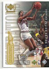 Julius Erving & Michael Jordan 1999-00 UD Century Legends Generations Insert