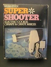 Wear-ever Super Shooter Electric Cookie Canape Candy Maker Press 70001