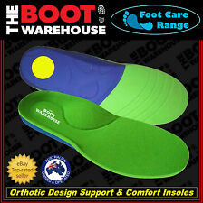 Insoles Innersoles Footbeds! Comfort Orthotic Arch Support! Work Boots & Shoes!