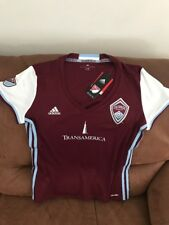 Adidas Colorado Rapids Mls Soccer Jersey NWT Size L Womens