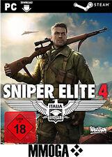 Sniper Elite 4 IV - PC Spiel Code - Steam Download Key Standard Version [DE/EU]
