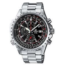 Casio Edifice Black Dial Silver Chronograph Men's Watch EF-527D-1AV RRP £150.00
