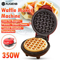 Mini Electric Waffle Maker Baker Breakfast Bubble Egg Cake Oven Non Stick 350W